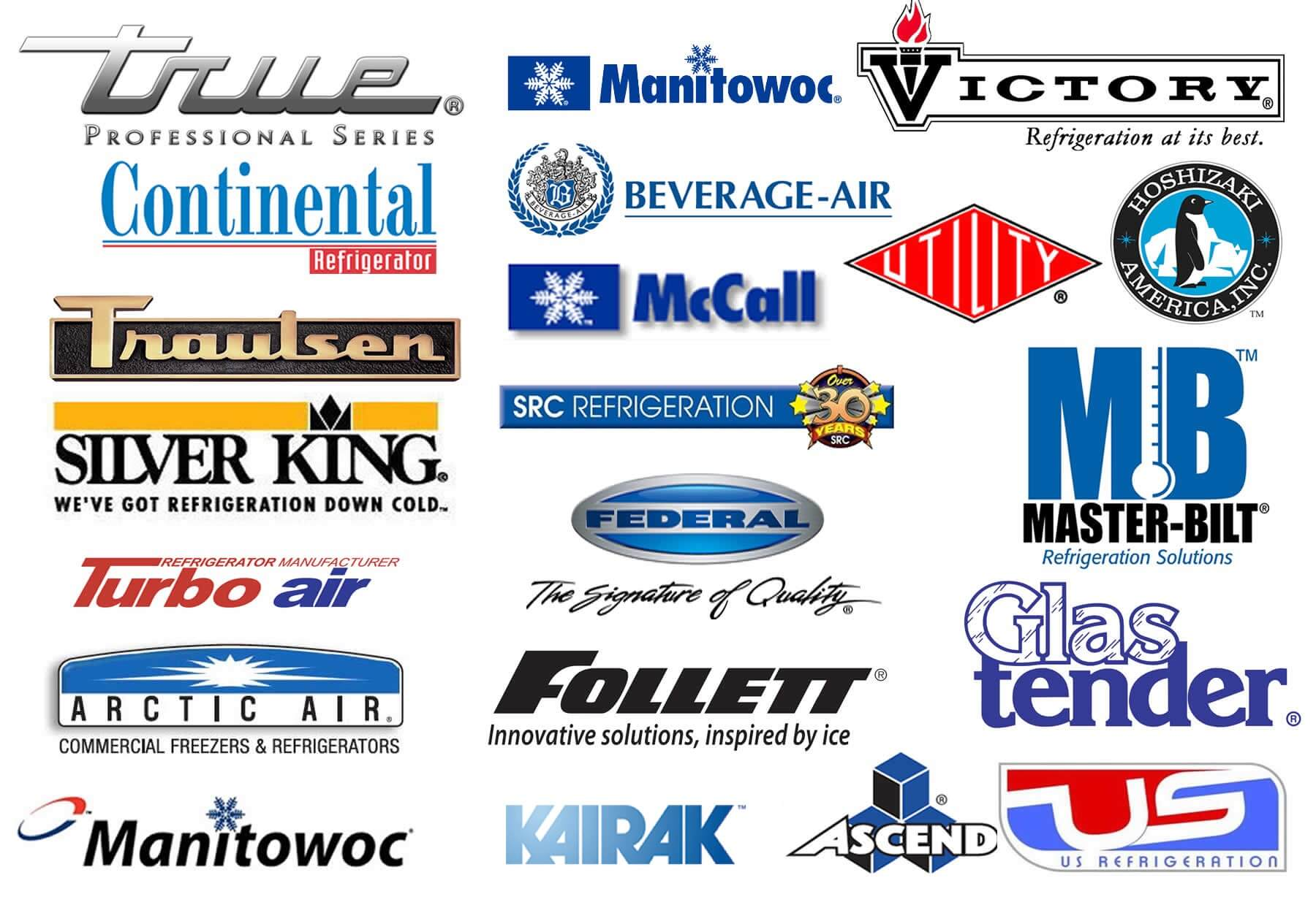Commercial Refrigeration Brands