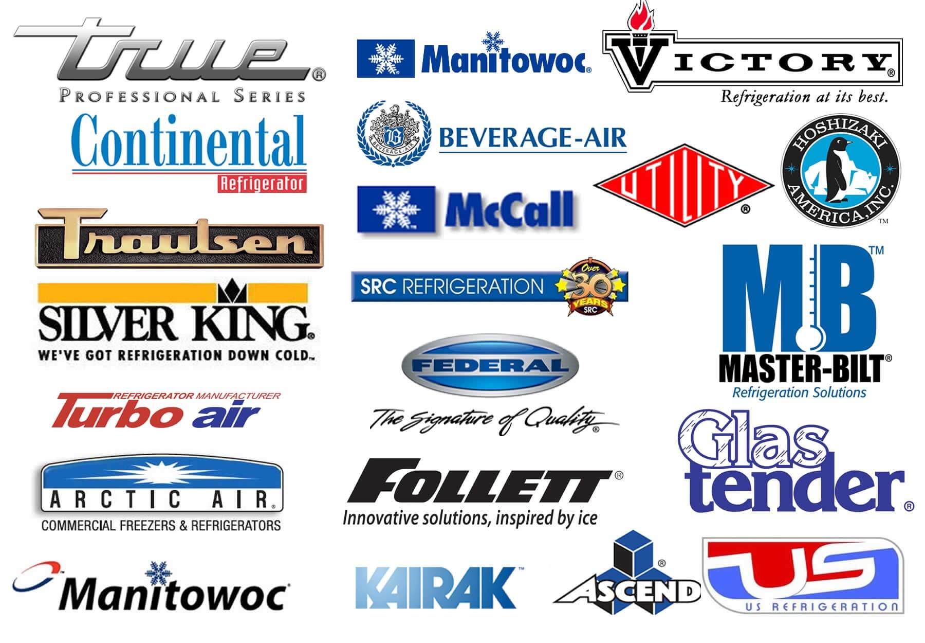 Commercial Refrigeration Brands