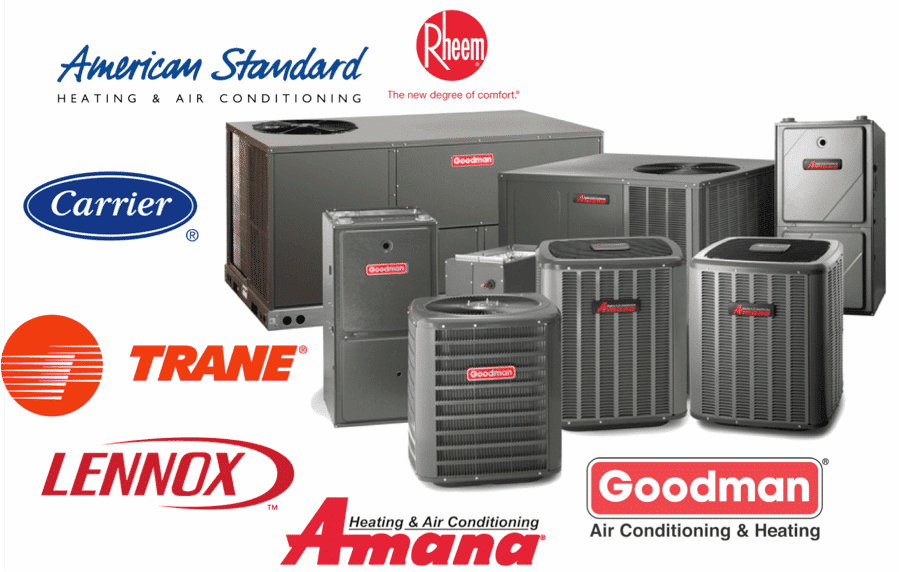 Commercial Air Conditioning and Heating Brands