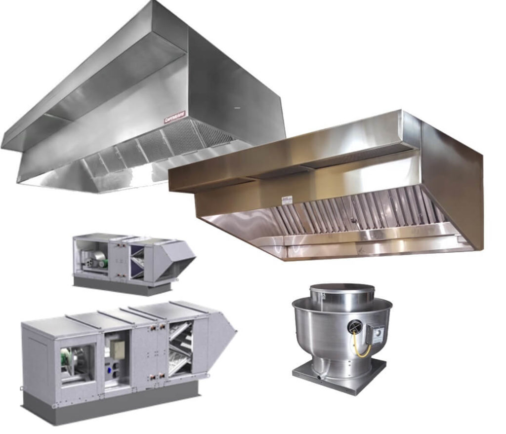 Commercial Exhaust Fans Vent Hoods Installation DFW
