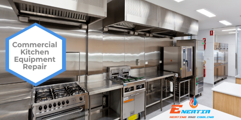 What is the average lifespan of commercial kitchen equipment?